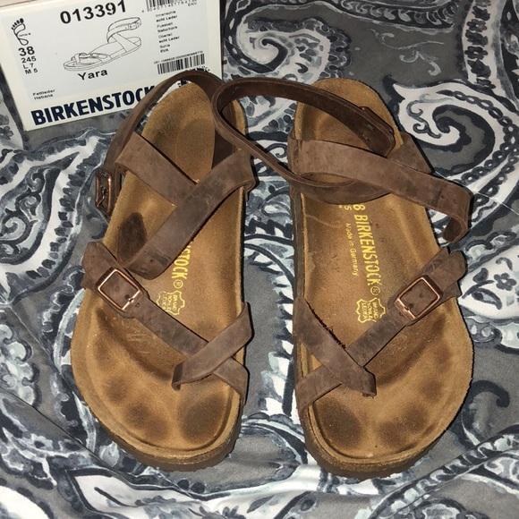 02e81e7dbd11 Birkenstock Shoes - Birkenstock Yara Oiled Leather